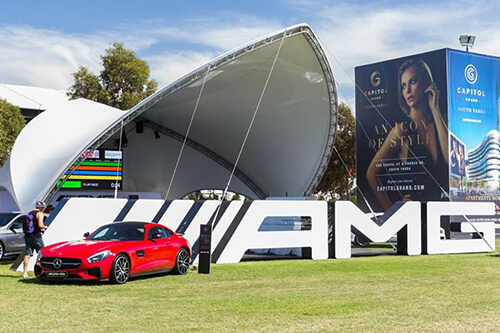 AMG F1 Grand Prix Activation