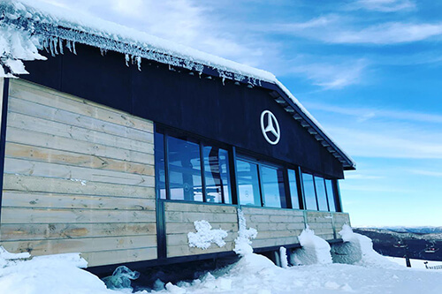 Mercedes-Benz Star Lodge at Mt Buller